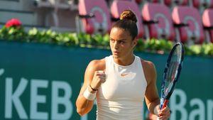 Στο Νο27 του παγκοσμίου τένις η Σάκκαρη με την στήριξη της Εθνικής Τράπεζας