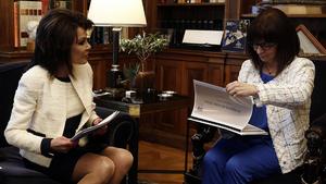 Συνάντηση Σακελλαροπούλου – Αγγελοπούλου για το «επετειακό» 2021