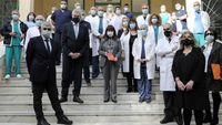 Το νοσοκομείο «Σωτηρία» επισκέφθηκε η ΠτΔ Κατερίνα Σακελλαροπούλου