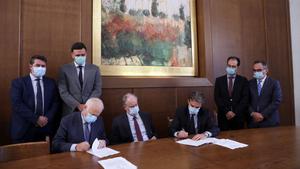 Βουλή: Υπεγράφη η Σύμβαση για τη δωρεά 50 κλινών ΜΕΘ 8 εκ. ευρώ, στο νοσοκομείο «Σωτηρία»