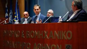 Θεοχάρης σε ΕΒΕΑ: Παρουσίασε το σχέδιο επανεκκίνησης της ελληνικής τουριστικής βιομηχανίας