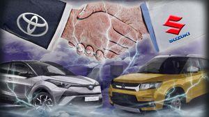 Συμμαχία Toyota και Suzuki με εξαγορά μετοχών