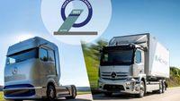 Mercedes-Benz Trucks: Βραβείο Καινοτομίας για τα eActros & GenH2