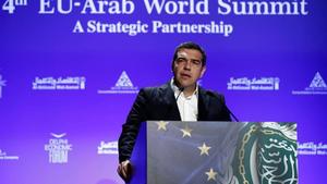 Τσίπρας σε 4η Ευρω-Αραβική Διάσκεψη: Είμαστε η γέφυρα Ευρώπης-Αραβίας