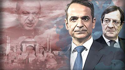 Μητσοτάκης-Αναστασιάδης: Ενιαίο μέτωπο απέναντι στην τουρκική προκλητικότητα