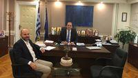 Συνάντηση του Προέδρου του ΤΕΕ με τον Υφυπουργό Οικονομικών