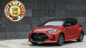 Το Toyota Yaris κατέκτησε επάξια τον τίτλο «Ευρωπαϊκό Αυτοκίνητο της Χρονιάς 2021»